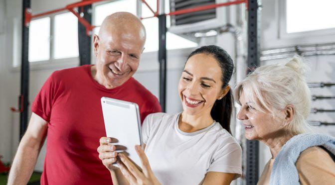 Kraftsport im Alter